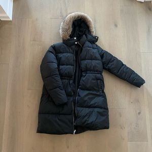 Old Navy Maternity Puffer Coat